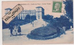 13 Marseille - Cpa / Jardin Du Pharo - Institut Pasteur. - Marseilles