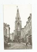 Cp , 80 , AMIENS , L'église SAINT LEU , Attelage , écrite 1918 - Amiens