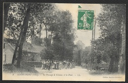 GOINCOURT Le Passage à Niveau Et Le Pont (-Danjou Delannoy) Oise (60) - Francia