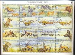 ANGOLA   961*  MINT NEVER HINGED MINI SHEET OF LUBRAPEX 96 ; WILDLIFE & ANIMALS ( - Postzegels