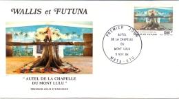Wallis Et Futuna -  Kapelle Lulu-Berg 1984 (FDC) - Wallis En Futuna