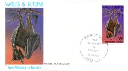 Wallis Et Futuna -  Fledermaus / Bat 1985 (FDC) - Wallis En Futuna