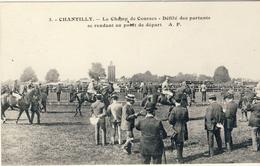 CHANTILLY -- LE  CHAMP De COURSES -- Défilé Des Partants Se Rendant Au Point De Départ - Chantilly