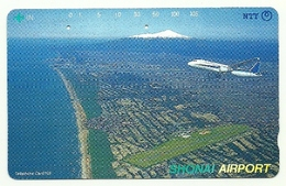 Giappone - Tessera Telefonica Da 105 Units T226 - NTT, - Avions