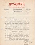 95 BONNEUIL En France FACTURE 1964 NOVEMAIL Créateur émail à Froid   Y87 - Francia