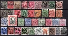 GB 138 - Lot De 95 Valeurs Oblitérées De Diverses Colonies Britanniques à Voir 3 Scan - Non Classés