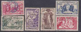 Madagascar N° 193 / 98 O : Exposition Internationale De Paris, Les 6 Valeurs  Oblitérations Moyennes, TB