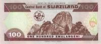 SWAZILAND P. 32a 100 E 2001 UNC - Swaziland