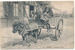CAUDRY - Attelage Du Pays - Pli Minime Coin Sup. Droit - Caudry