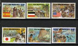 1988 - MICRONESIA -  Catg.. Mi. 83/88 -  NH - (I-SRA3207.31) - Micronesia