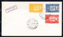 VENEZUELA  1959  SOBRE 1er.DIA FDC. CENTENARIO DEL DE LA IMPLANTACION DEL  SELLO DE CORREOS .CN6546 - Venezuela