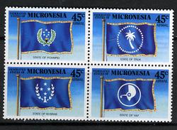 1989 - MICRONESIA -  Catg.. Mi. 119/122 -  NH - (I-SRA3207.31) - Micronesia