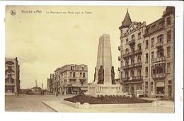 38609 KNOKKE - KNOCKE S/MER Le Monument Aux Morts Pour La Patrie - Knokke