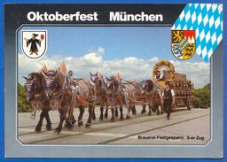 Deutschland; München; Oktoberfest - München