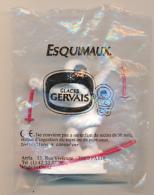 Figurine GLACES GERVAIS : Esquimaux Sur Ses Skis (3 Scans) Neuve Avec Son Emballage - Figurines