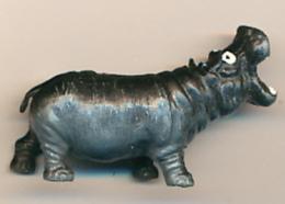 Figurine, Animaux : Hippopotame (2 Scans) - Figurines