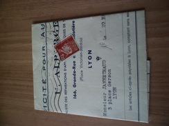 Pli Facture Pour Réparation De Camion  4 Roues Le 28 Mai 1946 Avec Le N° 515 Seul TB  ! ! !