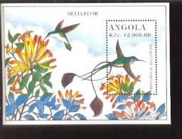ANGOLA   960  MINT NEVER HINGED SOUVENIR SHEET OF BIRDS  ;HUMMINGBIRDS - Unclassified