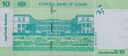 SUDAN P. 73b 10 P 2015 UNC - Sudan