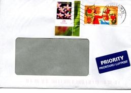 Auslandsbrief Von Briefzentrum 90 Mit 100 Cent Mischfrankatur 2017 - BRD