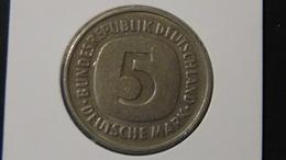 "Germany - 1980 - 5 Mark - Mintmark ""F"" - Stuttgart - KM 140.1 - VF - Look Scans - [ 7] 1949-…: BRD"