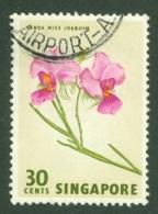 Singapore: 1962/66   Pictorial - Marine Life, Flowers, Birds   SG73    30c    Used - Singapore (1959-...)