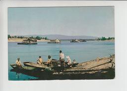 Watermill Shipmill 1966, Floating Mill , Schiffmuehle , Bosanska Gradiska River Sava (cb527) Used Postcard Mulen Molen - Bosnië En Herzegovina