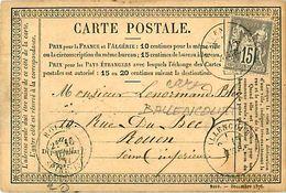 Cpa Précurseur  1877 De BALLENCOURT 91 à Rouen - Ballancourt Sur Essonne