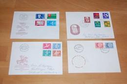 SCHWEIZ FDC-Posten Aus 1958-2003 über Weite Strecken Komplett, Ca. 2.800.- €  ....117 (0) - Stamps