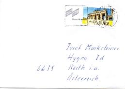 Auslandsbrief Von Briefzentrum 86 Mit 80 Cent Automatenmarke 2017 - BRD
