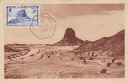 Algerie :   No 298 Congrès De Géologie Sur Carte Maximum Fabriquée CaD De Tamarasset Du 11 08 1952 - Argelia (1924-1962)