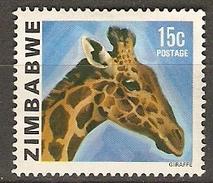 ZIMBABWE   -   GIRAFE    -   Oblitéré