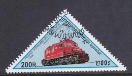 Kambodscha 1998, Mi-Nr. 1807, Lokomotive, Gestempelt, Siehe Scan - Kambodscha