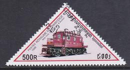 Kambodscha 1998, Mi-Nr. 1808, Lokomotive, Gestempelt, Siehe Scan - Kambodscha