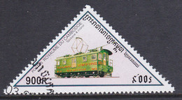 Kambodscha 1998, Mi-Nr. 1809, Lokomotive, Gestempelt, Siehe Scan - Kambodscha