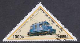 Kambodscha 1998, Mi-Nr. 1810, Lokomotive, Gestempelt, Siehe Scan - Kambodscha