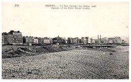 76 DIEPPE : La Rue Aguado Des Jetées - Dieppe
