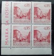 Yugoslavia 1972 0.35 Phosphor MNHH - Ongebruikt