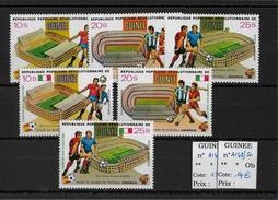 GUINEE - FOOTBALL - YVERT PA N°145/150 ** - COTE = 27.55 EURO - - Guinea (1958-...)