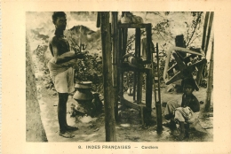 INDES FRANCAISES CORDIERS  EDITION BRAUN - Inde