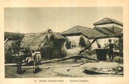 INDES FRANCAISES  HUILERIE INDIGENE   EDITION BRAUN - Inde