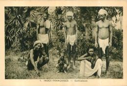 INDES FRANCAISES  CULTIVATEURS  EDITION BRAUN - Inde