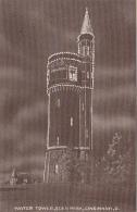 Bâtiments Et Architecture - Château D'Eau Cincinnati - Illumination Nuit - Water Tower Cincinnati Ohio - Châteaux D'eau & éoliennes