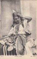 Algérie - Femme Arabe - Chapeau - Bijoux - Algérie