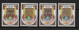 GUINEE - REFUGIES - YVERT N°52/53 2 SURCHARGES DIFFERENTES ** - COTE = 29 EUROS - Guinea (1958-...)