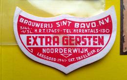 Beer Label Belgium Extra Gersten Brouwerij Verlinden St Bavo Noorderwijk (LT4B) - Bière