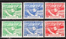 TR288/90A**  Mercure - Série Complète - MNH** - COB 1.80 - Vendu à 12.50% Du COB - Chemins De Fer