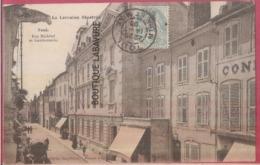 54 - TOUL--Rue Michatel Et Gendarmerie--animé - Toul