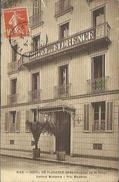 CPA De NICE - HOTEL DE FLORENCE - Près De L'Avenue De La Gare. - Cafés, Hôtels, Restaurants