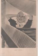 VENDO N.1 CARTOLINA DEL'ATTRICE CINEMATOGRAFICAJEAN HARLOW,FORMATO PICCOLO DEL 1920 CIRCA VIAGGIATA IN BUSTA - Foto